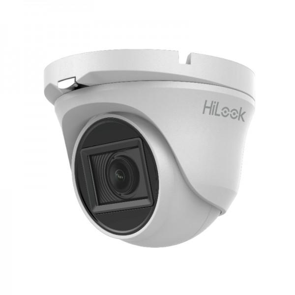 HiLook 2.0MP Eyeball EXIR TVI Dome-Kamera, 2.7-13.5mm Motorzoom, Nachtsicht 70m