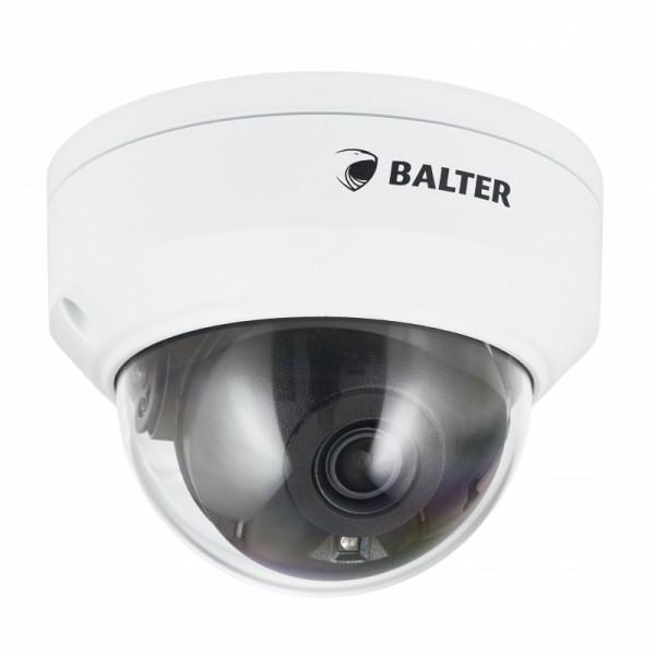 BALTER X ECO Vandalensichere IP Dome-Kamera mit 4.0MP, 2.8mm, Nachtsicht 30m