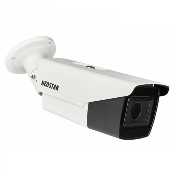 NEOSTAR 2.0MP TVI / CVI / AHD / CVBS EXIR Außenkamera, 2.7-13.5mm Motorzoom, Auto-Fokus, Nachtsicht