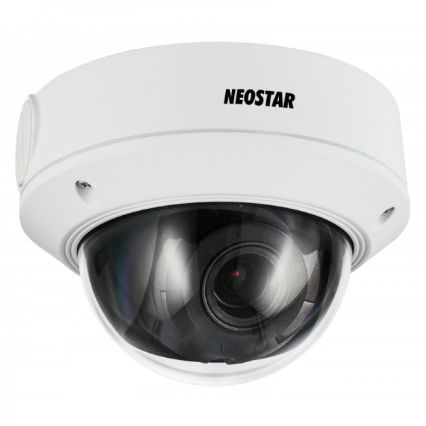 NEOSTAR NTI-D4014MIR 4.0MP Infrarot IP Domekamera, 2.8-12mm Motorzoom