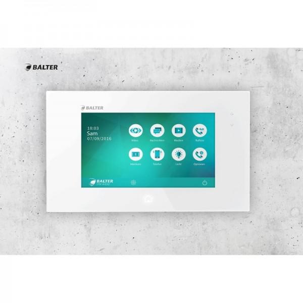 """Balter Juno 7 - 7 """" Videostation, Bildschirm mit Touchscreen für Video-Sprechanlage"""