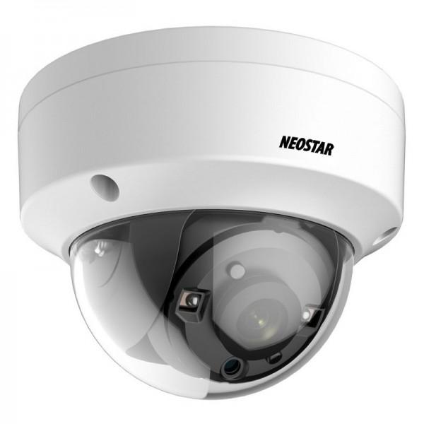 5 Megapixel HD-TVI Anti Vandal Dome-Kamera, 2.8mm Motorzoom Objektiv, Nachtsicht 25m