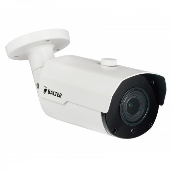 BALTER 5.0MP EXIR TVI / CVI / AHD / CVBS Außenkamera, 2.8-12mm Motorzoom, Autofokus, Nachtsicht 40m