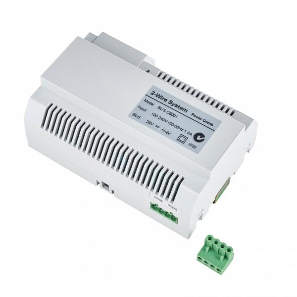 Hautpstromverteiler BUS-C6001 mit Stecker